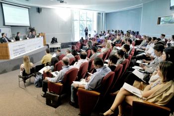 Vista geral do auditório do ILB