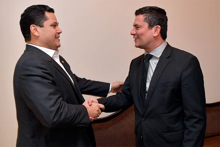 Segurança pública é tema de encontro entre Davi e Moro — Portal ...