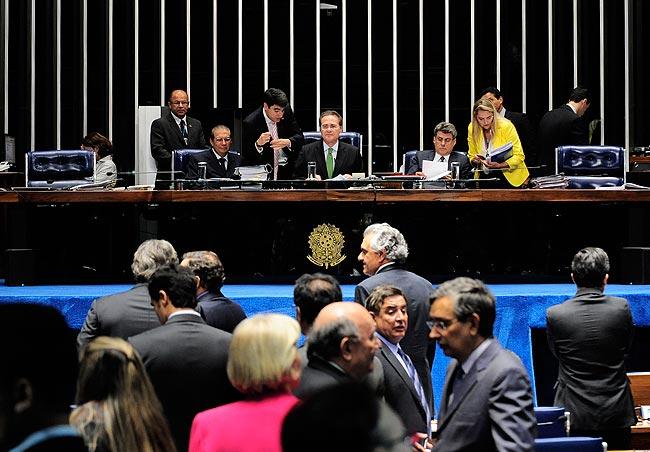 Renan garante apoio na aprovação da PEC 56/2014. Foto: Jonas Pereira