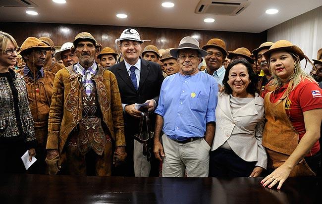 """""""Senado resgatou uma dívida com os vaqueiros"""", diz Renan - Foto: Jonas Pereira"""