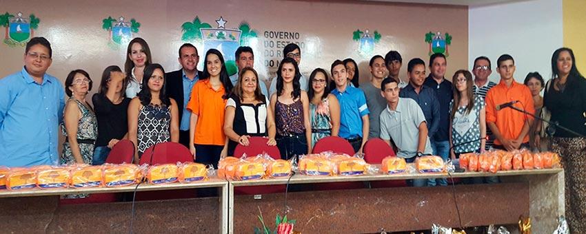 """Secretaria de Educação do RN - Solenidade de premiação da Ação Dia """"S"""""""