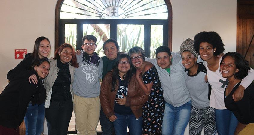 Equipe e alunos do Curso Empoderando a Latinoamérica
