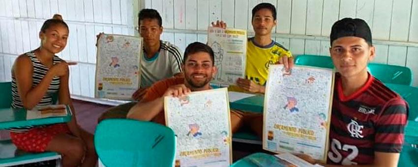 Mais de 90% dos municípios enviaram redações para o Jovem Senador no Amapá