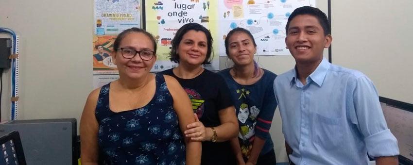 Darlan Paulino, jovem senador de 2017, ajudou a divulgar o programa em Roraima