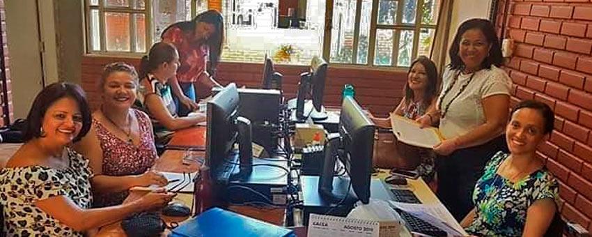 Comissão de avaliação do Jovem Senador em Goiás