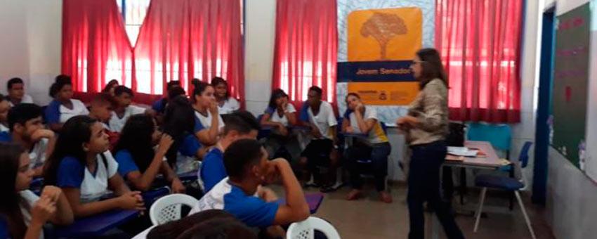Jovem Senador cresce em Tocantins com maior participação de escolas em Palmas