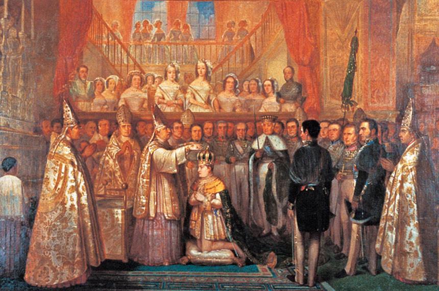 Antes da versão atual, letra do Hino Nacional bajulava Pedro II