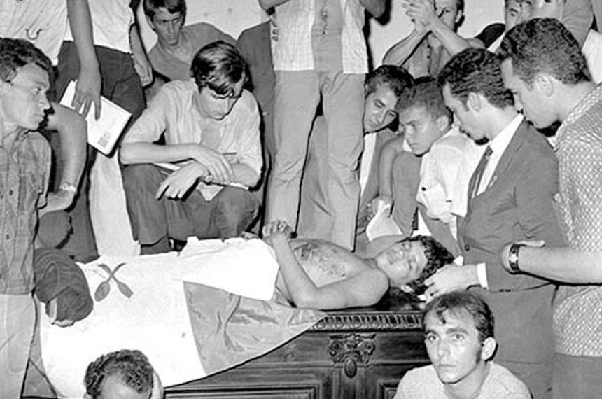 Em 68, Senado reage a morte de estudante