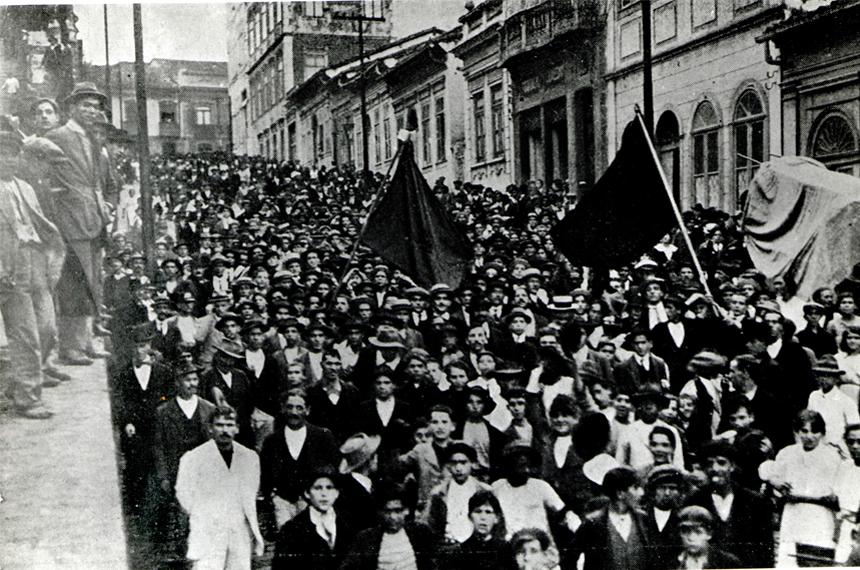 Há 100 anos, greve geral parou São Paulo