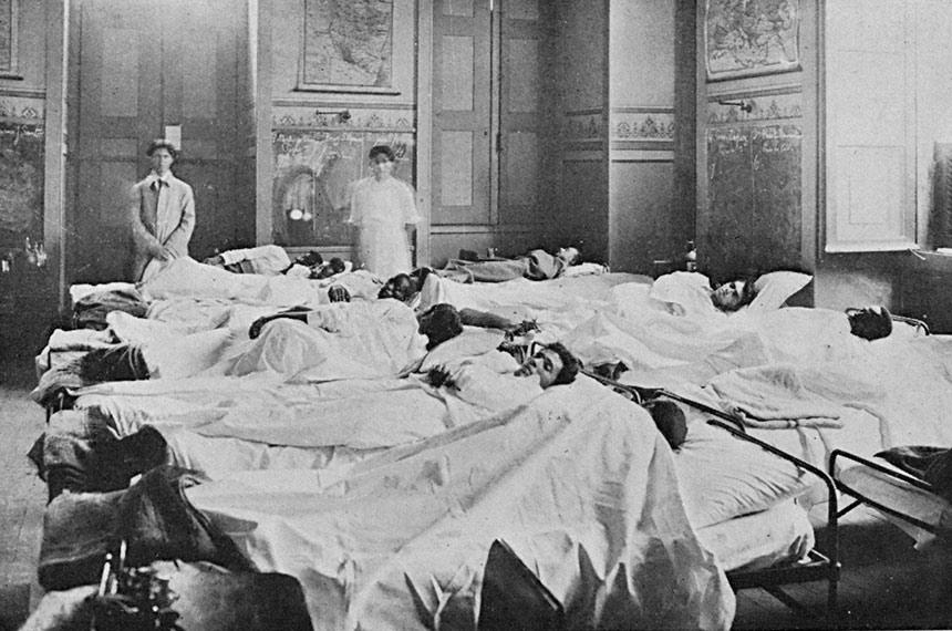 Há 100 anos, gripe espanhola devastou país e matou presidente