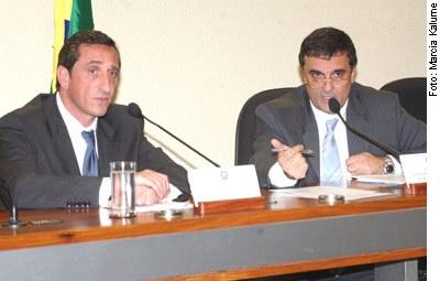 [Foto: Reunião da Sub-Relatoria de Contratos da CPMI dos Correios]