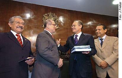 [Foto: presidente do Senado, Renan Calheiros]