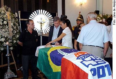 [Foto: últimas homenagens ao senador Jefferson Péres (PDT-AM), 76 anos]