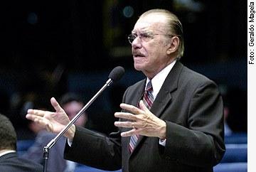 [foto: presidente do Senado, José Sarney]