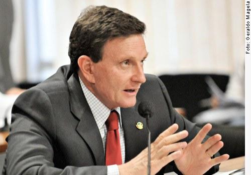 [Foto: senador Marcello Crivella (PRB-RJ)]