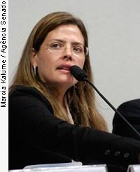 [Cristina Godoy Freitas, promotora de Justiça do Ministério Público de São Paulo (alto) Mário José Gisi, subprocurador-geral da República / senadores Pedro Taques (PDT-MT) e Demóstenes Torres (DEM-GO)]