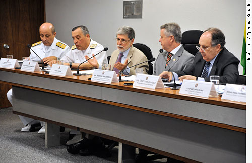 comissões de Ciência e Tecnologia (CCT), de Meio Ambiente (CMA), e de Relações Exteriores e Defesa Nacional (CRE)