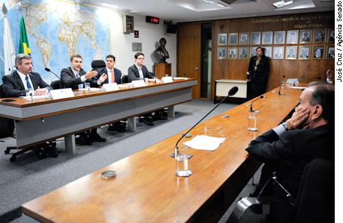 Audiência foi realizada na Comissão de Relações Exteriores do Senado