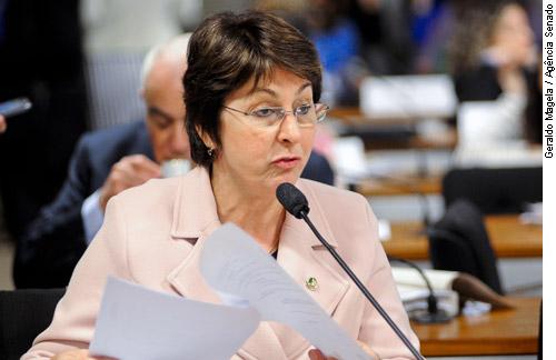 Relatora, senadora Ana Rita é favorável na forma de substitutivo