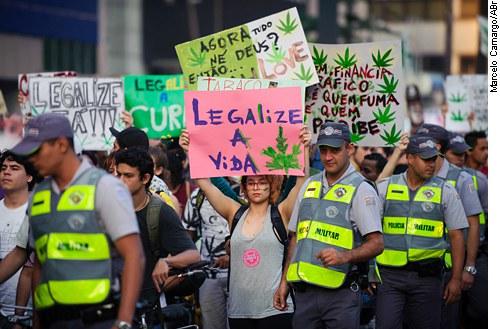 Marcha da Maconha em São Paulo: uso recreativo é visto como direito
