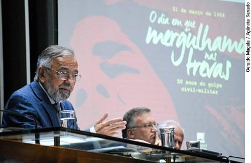 João Capiberibe relata projeto que exclui da anistia crimes de agentes públicos