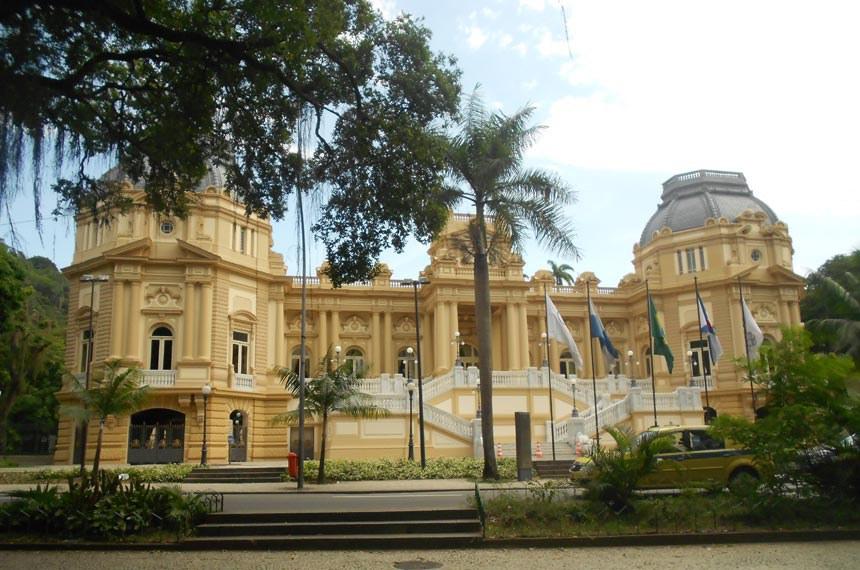 Palácio Guanabara, sede do governo do estado do Rio de janeiro