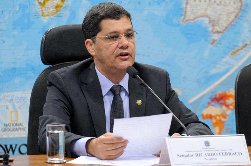 Ricardo Ferraço, relator do projeto, é contra a possibilidade de censura, prévia ou posterior