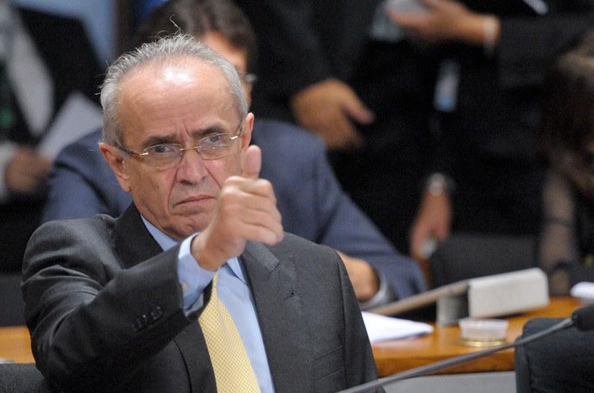 Senador Cícero Lucena, relator da proposta, apresentou duas emendas