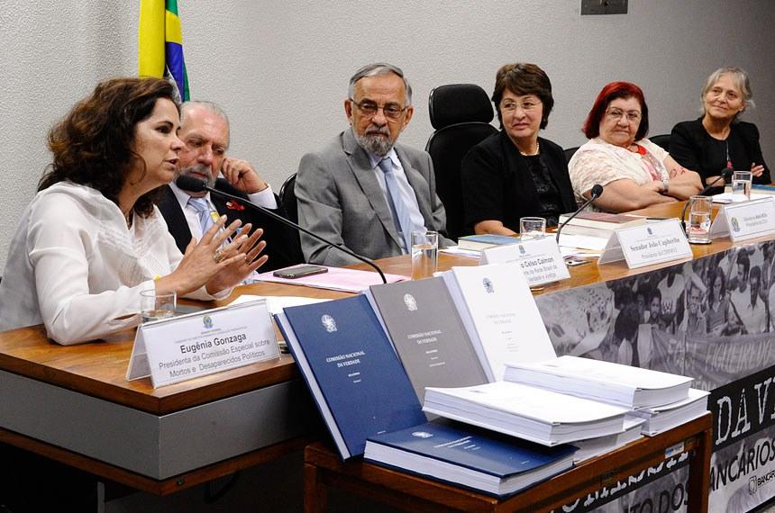 (E/D): Eugênia Gonzaga, Francisco Celso Calmon, João Capiberibe , Ana Rita, Diva Santana, Ela Wiecko de Castilho