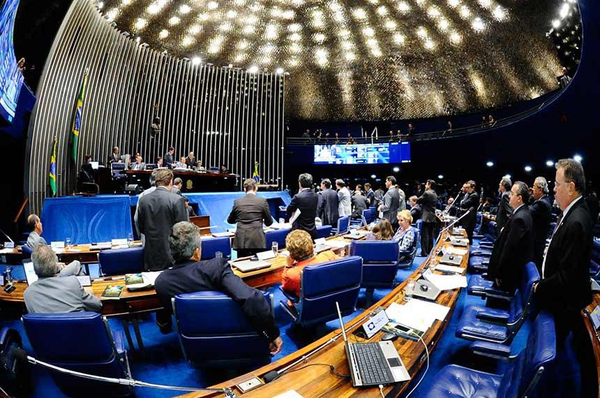 Imagem interna do plenário