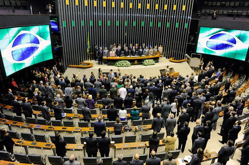 Abertura do ano legislativo em fevereiro de 2014