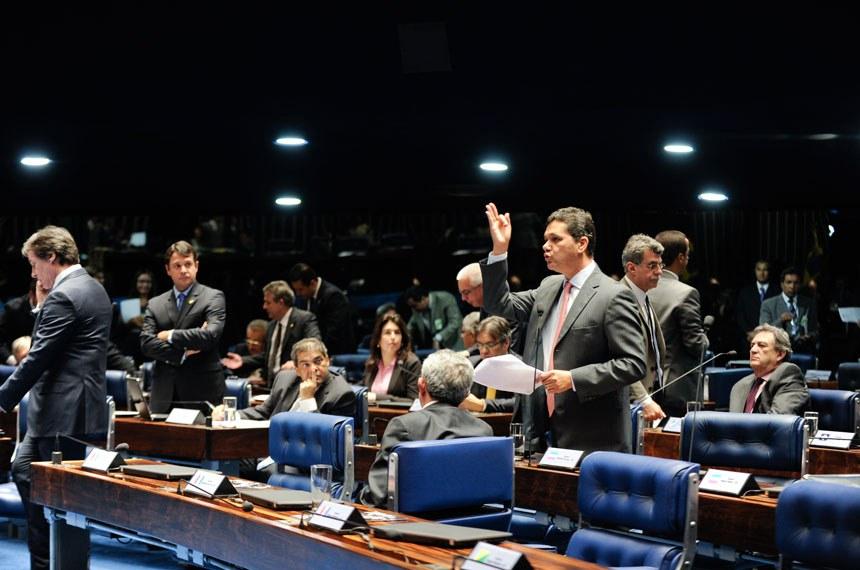 Senador Ricardo Ferraço defende no plenário a formação da comissão externa