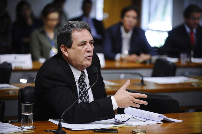 Senador Waldemir Moka, relator do projeto aprovado nesta quarta (29) na CAS