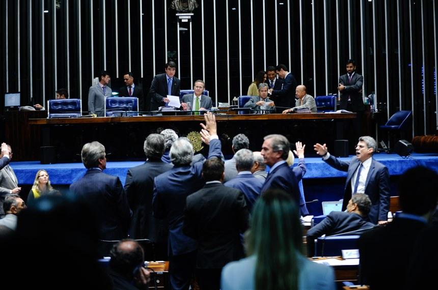 A discussão do projeto e a votação dos destaques duraram mais de quatro horas