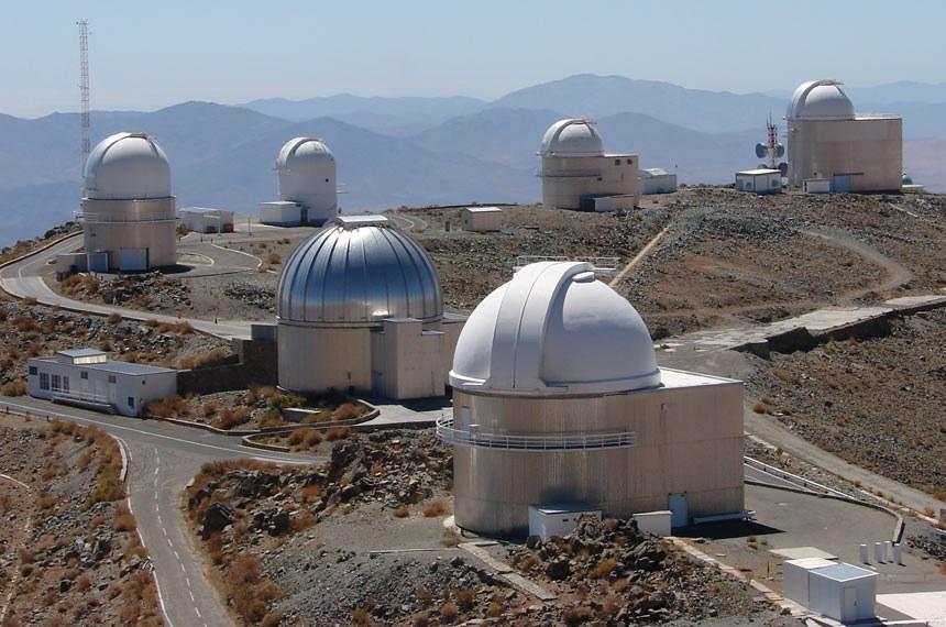 Observatório de La Silla, no deserto do Atacama, no Chile