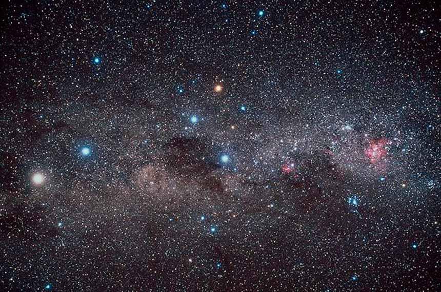 Céu do hemisfério Sul poderá ser melhor estudado pelos astrônomos brasileiros