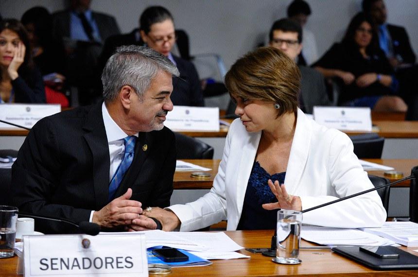 A senadora Ângela Portela (PT-RR) apresentou relatório favorável à indicação de Carla Santa Cruz Coelho para assumir a diretoria da Agência Nacional de Saúde Suplementar (ANS)