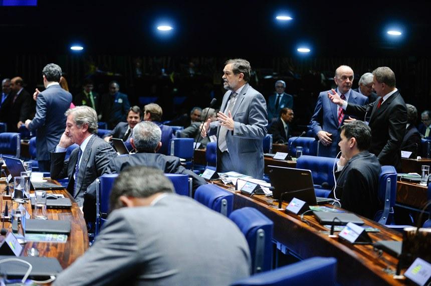 Walter Pinheiro, presidente da Comissão Especial do Pacto Federativo, informou que, na primeira semana de trabalho do colegiado, foi possível entregar 20 matérias de interesse dos municípios prontas para serem votadas no Plenário