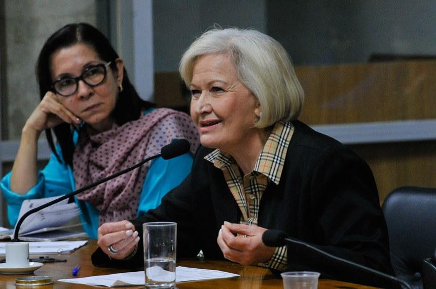Ana Amélia é autora do PLS 240/2011, que estabelece benefícios aos portadores de esclerose lateral amiotrófica