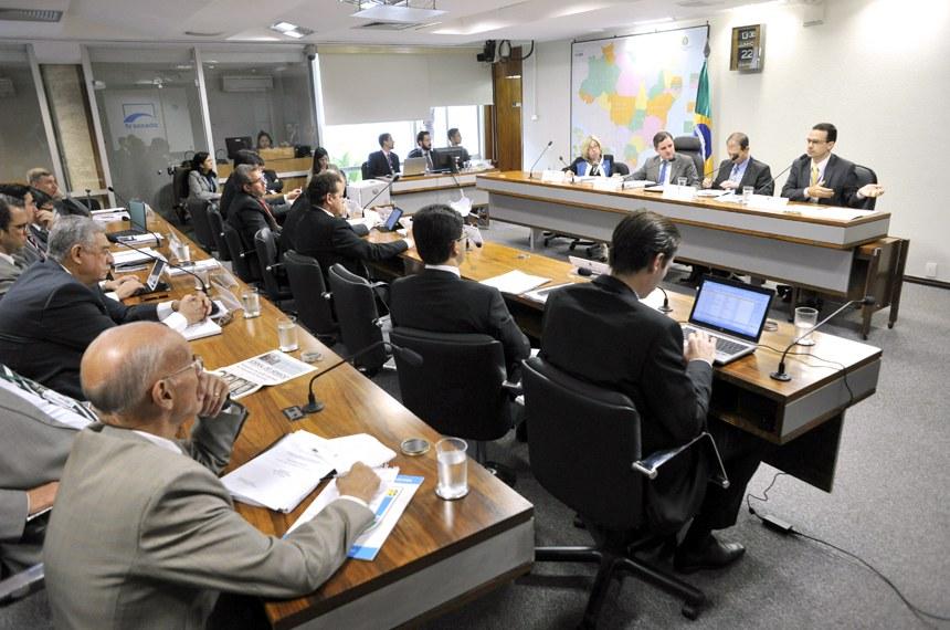 Reunião da comissão de reforma do Código Brasileiro de Aeronáutica, no último dia 22 de junho