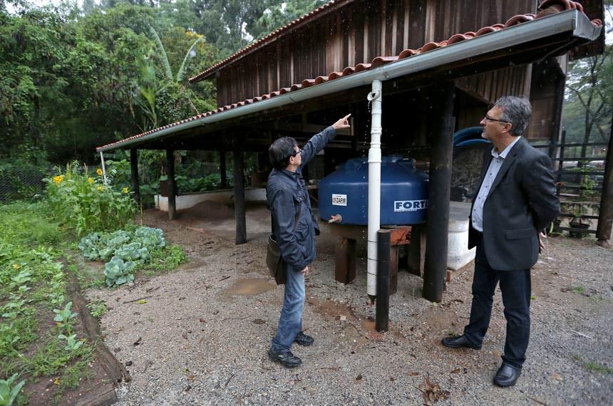 Edificação no Parque Chico Mendes em Osasco (SP) já utiliza a captação de água pluvial