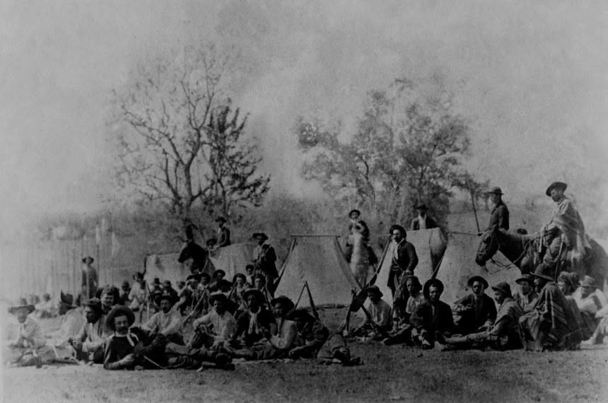 A maior parte das batalhas da Revolução Federalista (1893-1895) se deu nas planícies do Rio Grande do Sul