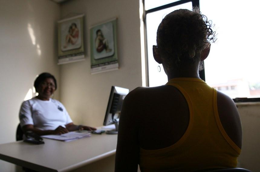 Delegacia de Atendimento à Mulher do bairro de Periperi, em Salvador