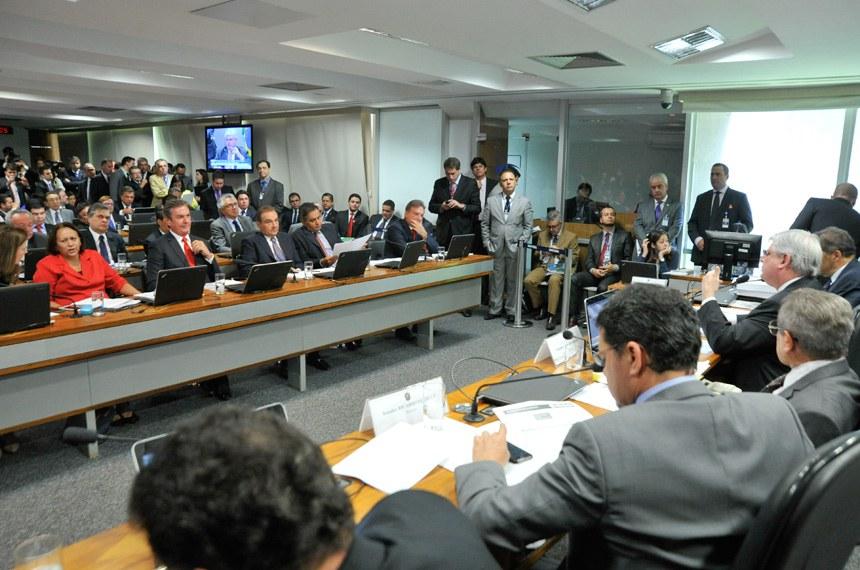 A sabatina de Janot, na última quarta-feira (26), lotou o plenário da Comissão de Constituição e Justiça