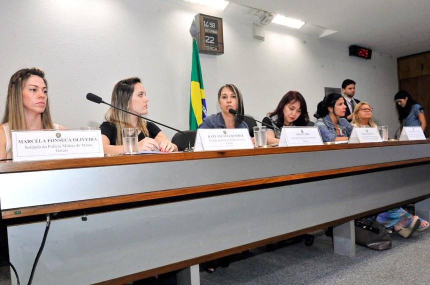 Audiência publica na Comissão Permanente Mista de Combate à Violência contra a Mulher debate violência nas corporações (Foto: Agência Senado)