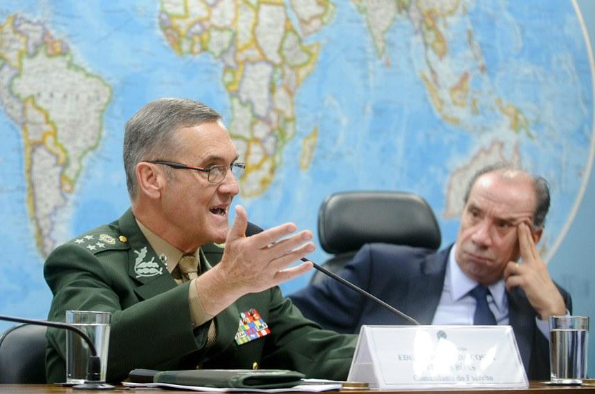 Brasil Corre Risco de Regredir 40 Anos na Defesa, Alerta Comandante do Exército