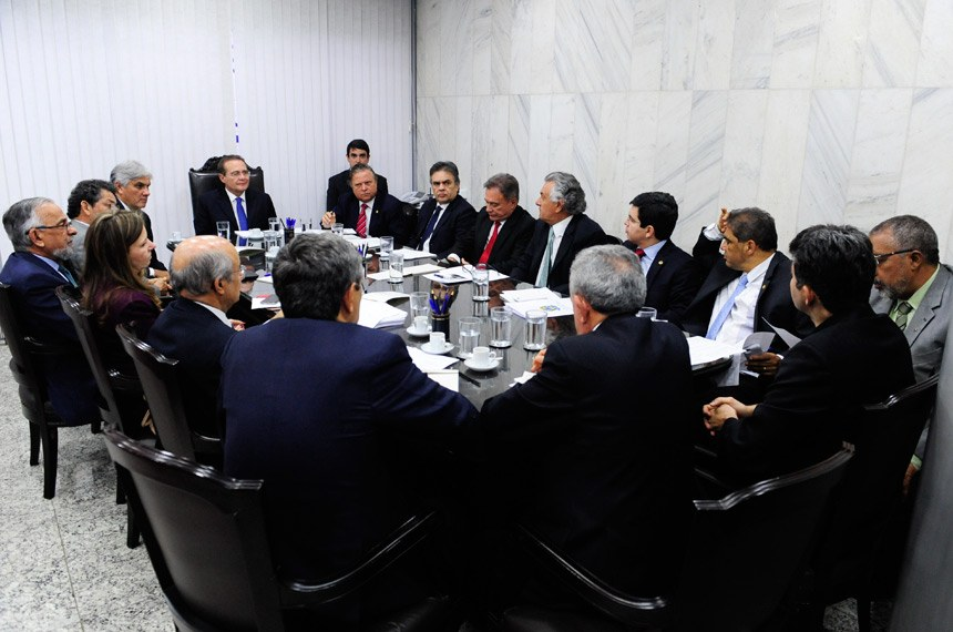 Reunião do presidente Renan Calheiros com os líderes partidários vai definir Ordem do Dia do Plenário nesta terça-feira