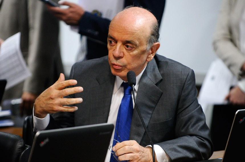 José Serra foi autor do projeto original tratando do uso dos depósitos judiciais