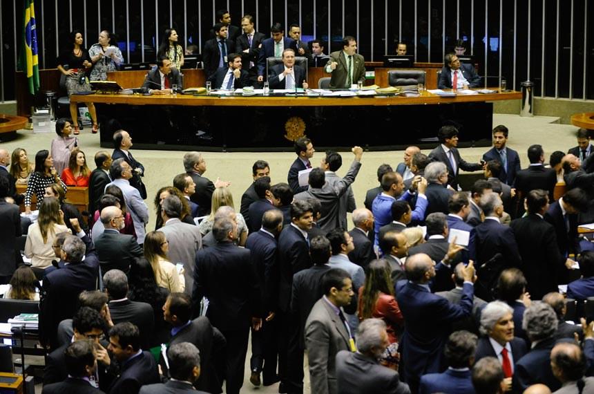 Sessão do Congresso em 18 de novembro