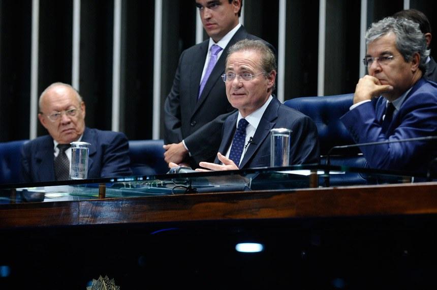 Renan Calheiros declarou que somente no futuro será possível avaliar o que esta decisão significará para o Legislativo